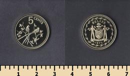 Belize 5 Cents 1975 - Belize