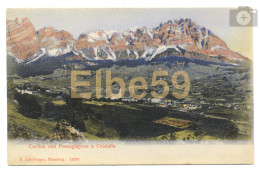 Cortina D'Ampezzo (BL), Chromo, Con Pomagagnon E Cristallo, Nuova - Altre Città