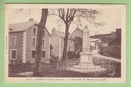 SAINT LAURENT D'OLT : Le Monument Aux Morts. 2 Scans. Edition Malaviole Epicerie - Altri Comuni