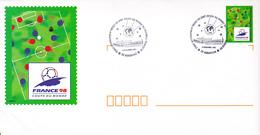 FRANCE Football Coupe Du Monde 98 - Tirage Au Sort Des Groupes à Marseille Sur Entier Postal - 1998 – Francia