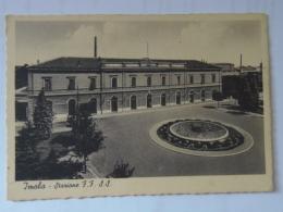 Bologna 26 Imola Stazione Ferroviaria FG Cca 1938 Ed Carlo Barelli E Figli - Imola