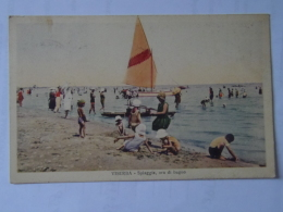 Rimini 101 Viserba Spiaggia 1930 Ed Salumeria - Rimini
