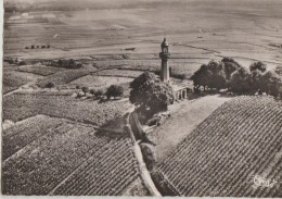 CPSM 51 VERZENAY Vue Aérienne Avec Le Phare Sur Le Vignoble Vin De Champagne - Francia