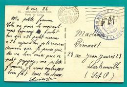 M6 : FLIER TAD BOULOGNE 24.XI.1939 CACHET MARINE FRANCAISE SERVICE A LA MER - Marcophilie (Lettres)