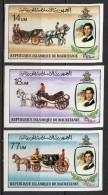 Mauritanie - 1981 - Yvert N° 477 à 479 **  - Mariage Royal, Lady Diana, Non Dentelé - Mauritanië (1960-...)