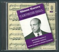 CD PIANO - SIMON BARERE : CARNEGIE HALL 1949 - Klassik
