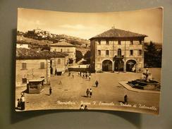 Novafeltria - Piazza V. Emanuele - Veduta Di Talamello - Viaggiata 1955 - Rimini