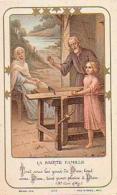 Religion        137        La Sainte Famille ( Image Pieuse ) - Images Religieuses