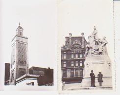 Photo        L4        Lot De 2 Photos 7X11 ( Paris )( 1934/1935 ) - Lieux