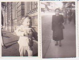 Photo        L5        Lot De 2 Photos 5,5X9 ( Nancy )( 1951-1952 ) - Lieux