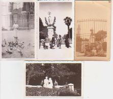 Photo        L9        Lot De 4 Photos 6,5X11 ( Bône ) - Lieux