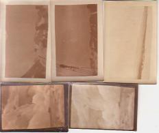 Photo        L10        Lot De 5 Photos  3 De 7X11 Et 2 De 6X9 ( Norvège )( 1934-1935 ) - Lieux