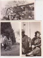 Photo        L11        Lot De 3 Photos  6,5X11 ( Egypte 1953 , Assouan ) - Lieux