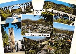 CPSM 30 SOUVENIR DE ST JEAN DU GARD MULTI VUES  Grand Format 15 X 10,5 - Saint-Jean-du-Gard