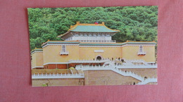 Ancient Palace Museum Chung Shan  In Shihlin= Outside Of Taipei= Ref 2392 - Postcards