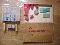 Jeu De Cube CONSTRUIRE Annees 50 Incomplet - Andere Sammlungen
