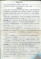HILARIO LOPEZ LLANOS Y AMELIA GONZALES NEIRA COMPARECEN EXPONTANEAMENT EL DIA 23/09/1954  BUENOS AIRES ZTU. - Historical Documents