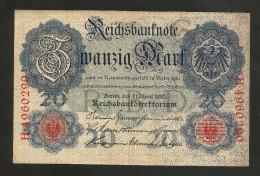DEUTSCHES REICH - (DEUTSCHLAND / GERMANY) - 20 MARK (1910) - 20 Mark