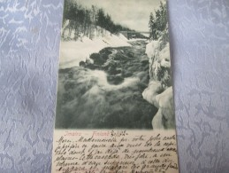 FINLANDE  . IMATRA  DOS 1900 . CACHET INTERESSANT - Finland