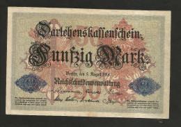 DEUTSCHES REICH - (DEUTSCHLAND / GERMANY) - 50 MARK (BERLIN - 1914) - 50 Mark