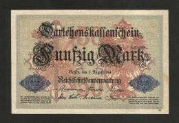 DEUTSCHES REICH - (DEUTSCHLAND / GERMANY) - 50 MARK (BERLIN - 1914) - [ 2] 1871-1918 : Impero Tedesco