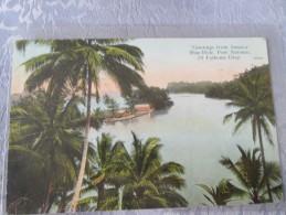 GREETING FROM JAMAICA . BLUE HOLE . PORT ANTONIO 20 FATHOMS DEEP.  BEL AFFRANCHISSEMENT - Sonstige