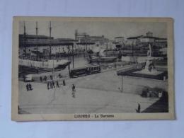 Livorno 20 La Darsena Cca 1920 Tram Ed Forti 17940 - Livorno