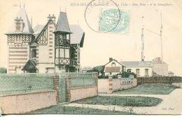 """N°85 L -cpa Riva Bella -la Villa """"mon Rêve"""" Et Le Sémaphore- - Riva Bella"""