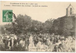 13/Lambesc - Habitants Abendonant Leurs Deumeure - Tremblement De Terre Du 11 Juin 1909 - - Lambesc