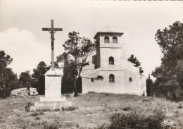 60798- ROQUEFORT DES CORBIERES LA CHAPELLE ST-MARTIN POSTCARD USED - Eglises Et Cathédrales