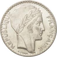 France, Turin, 20 Francs, 1934, Paris, TTB+, Argent, KM:879, Gadoury:852 - France