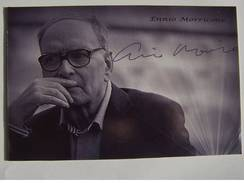 Compositeur - Ennio MORRICONE -  Dédicace - Hand Signed - Autographe Authentique - Singers & Musicians