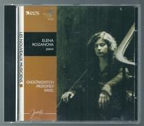 CD PIANO - SHOSTAKOVICH / PROKOFIEV / RAVEL - ELENA ROZANOVA, PIANO - Klassik