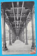 75-PARIS-sous Le Metro-nouveau Viaduc Vers Pacy -cpa  écrite 1907 Voir Scans - Métro Parisien, Gares