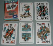 Rare Jeu De 33 Cartes Publicitaire Avec Joker, Pub Anisette FLORANIS, Anis - 32 Cartes