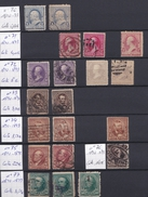 USA - 1890/1893 - N°70 à N°77 - 20 Timbres - Gebraucht