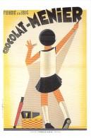 PUBLICITE Pub - CHOCOLAT MENIER ( Fondé En 1816 )  Affiche Anonyme Vers 1940 - Repro Affiche - CPM GF - - Publicité