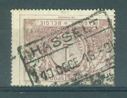 """BELGIE - OBP Nr TR 26 - Cachet  """"HASSELT"""" - (ref. AD-7915) - Chemins De Fer"""