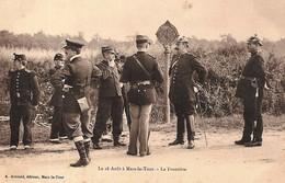 CPA - MARS LA TOUR 54 Meurthe Et Moselle - Le 16 Août - La Frontière, Français & Allemands Animée -  Edit. Veuve Arnoult - Guerre 1914-18