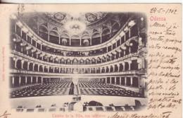 461-Russia-U.R.S.S.-Odessa-Theatre De La Ville, Vue Intérieure-v.1902 X Como -Tema Spettacolo-Teatro - Russia