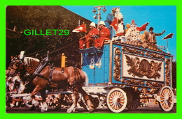 CIRQUE - RINGLING BROS. BARNUM & BAILEY CIRCUS WORLD , 1973 - BRIGHT COLORS & MAGNIFICIENT DETAIL, CIRCUS WAGON - Circus