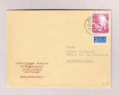 D - BRD BONN 28.9.1949 Brief Nach Halle-Bielefeld Mit Mi#112 - BRD