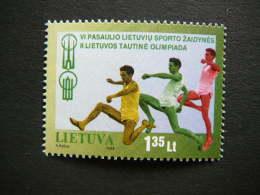 Lietuva Litauen Lituanie Litouwen Lithuania 1998 MNH # Mi. 669 Sixth World Lithuanian Games. - Lithuania