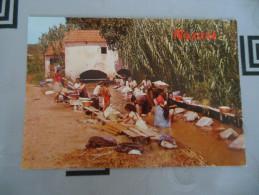 CPM FORMAT ACTUEL  -  NAZARE  -  LAVANDIERES - Portugal