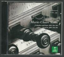 CD CLASSIQUE - BACH VOL. 11 - MARIE-CLAIRE ALAIN, Orgues Alfred Kern (1975) à Masevaux - Klassik