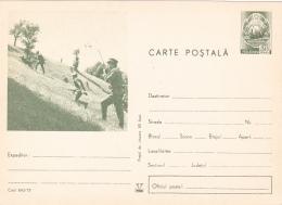 #BV5189  SOLDIER, MILITARY, ARMY, POSTCARD STATIONERY, 1972, ROMANIA. - Ganzsachen
