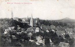 BLICK AUF WARBURG.  -   VOM OSTERBERG AUG - 1907 - Warburg