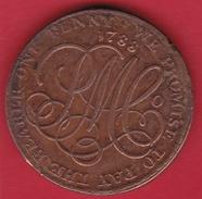 Indes Britanniques - 1 Penny 1788 - Inde