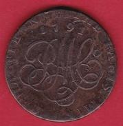 Indes Britanniques - 1/2 Penny 1791 - Inde