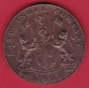 Indes Britanniques - 20 Cash 1803 - Inde